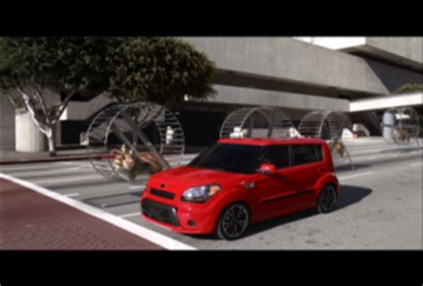 kia soul   hamsters cool cbs news