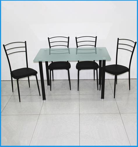 cheap metal used restaurant dining table and chairs made