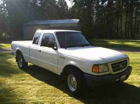 4 Cylinder Ford Ranger by Purchase Used 2001 Ford Ranger 2 3l 4 Cylinder With
