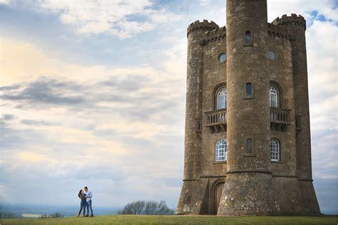 worcestershire pre wedding shoot  broadway tower