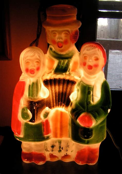 50s christmas carolers holiday light by curioscity on etsy