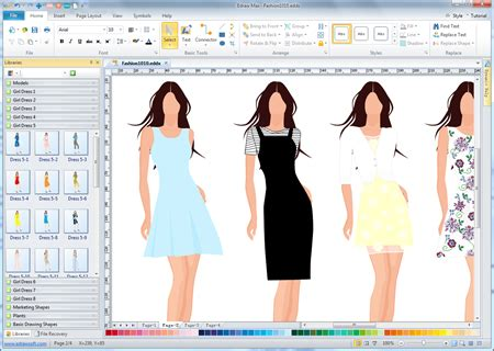 fashion design software create fashion design with computer program