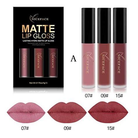lippenstift matt machen lippenstift matt huihui 3pcs liquid lipstick set sch 246 nheit lippe gloss lasting