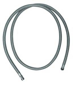 kitchen faucet hose hansgrohe 88624000 pull kitchen faucet hose thebuilderssupply com