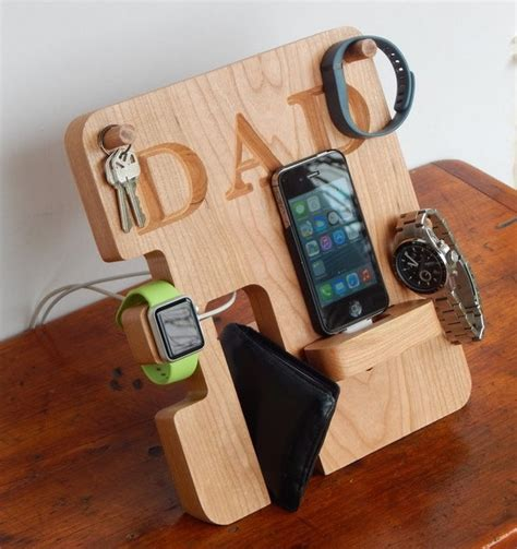 Kitchen Gadget Gift Ideas - personalized phone and apple watch docking station holycool net