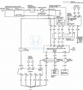 Honda Accord  Circuit Diagram - Immobilizer System