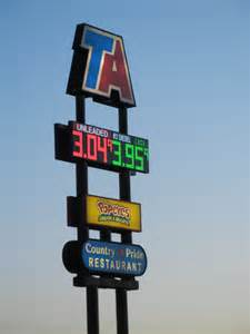 Ta Truck Stop Travel Centers of America