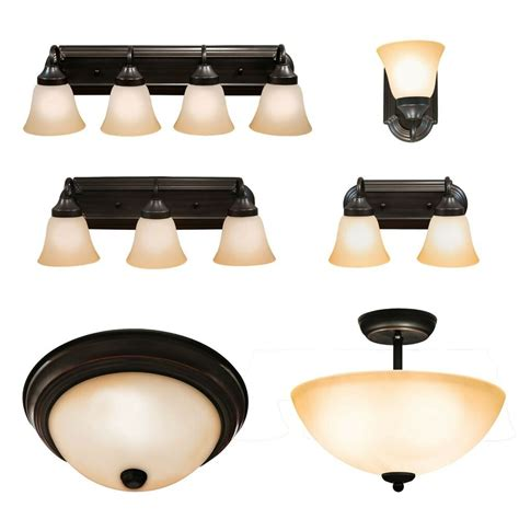 Bathroom Vanity Light Fixture by Rubbed Bronze Ceiling Light And Bathroom Wall Vanity