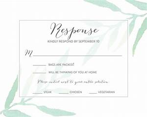 wedding rsvp wording ideas With placement of rsvp cards in wedding invitations
