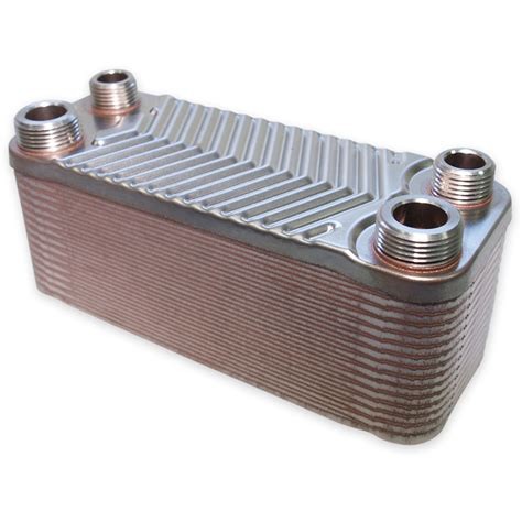 revetement plan de travail cuisine échangeur de chaleur thermique inox 30 plaques max 66 kw