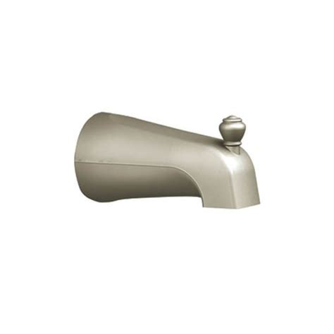 moen monticello tub spout moen 3809bn monticello 5 5 diverter tub spout with 0 5