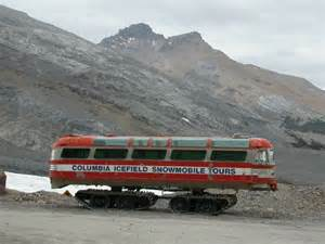 Columbia Icefields Bus