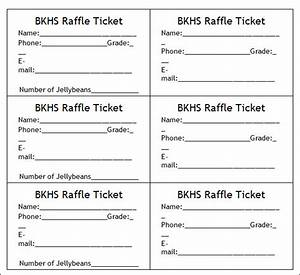 7 best images of make your own raffle tickets blank With create your own tickets template