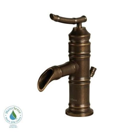 pegasus bamboo faucet heritage bronze pegasus bamboo 4 in minispread 1 handle low arc bathroom