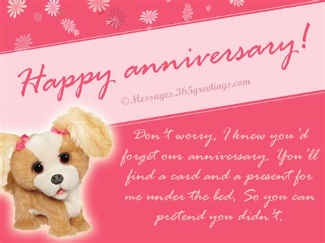 funny anniversary card messages greetingscom