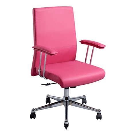 arosa executive chair pink 179 00 at officeworks lighter