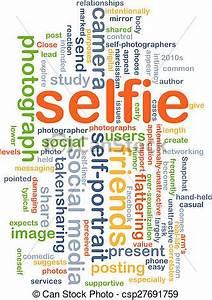 Stock Illustrations of Selfie background concept ...