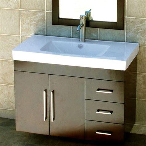 bathroom vanity cabinets with tops 36 quot bathroom wall mount vanity cabinet ceramic top sink ebay