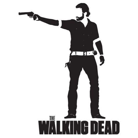 rick grimes  walking dead wall sticker