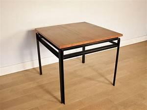 Table A Manger Vintage : table manger gascoin vintage alveole jean prouv ~ Teatrodelosmanantiales.com Idées de Décoration