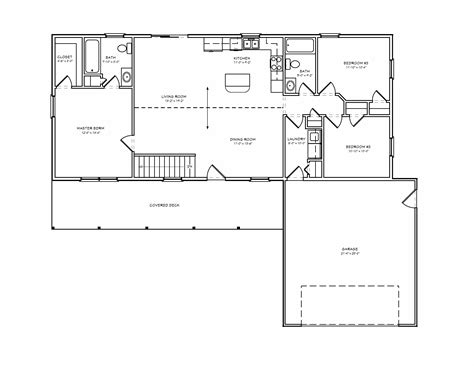 small two bedroom house plans simple rambler house plans with three bedrooms small