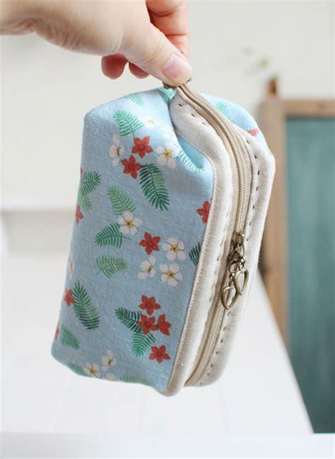 cosmetic bags zipper makeup bag diy tutorial ideas