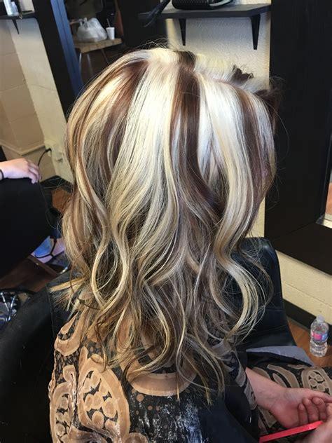 Chunky blonde highlight | Chunky blonde highlights, Long ...