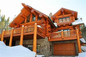 pioneer log homes of bc breckenridge rustic exterior With ordinary maison en rondin prix 3 how to decorate a wooden house one decor