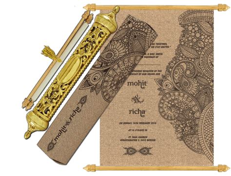 buy royal scroll cards sc   madhurash cards