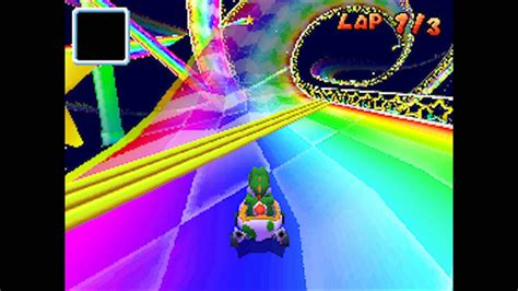 mario kart ds  loop glitch rainbow road youtube