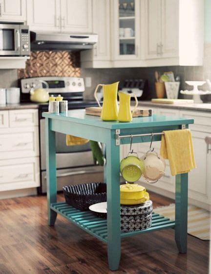 yellow kitchen cabinets best 25 portable kitchen island ideas on 1691