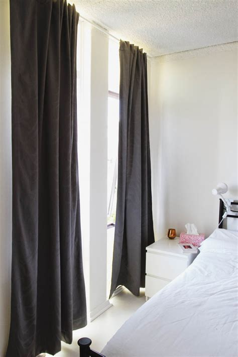 thick white linen curtains myideasbedroom