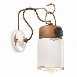 Lampenschirme Für Tischleuchten Vintage : industrielle wandleuchte mit farbigem keramik schirm in vintage optik ~ Bigdaddyawards.com Haus und Dekorationen