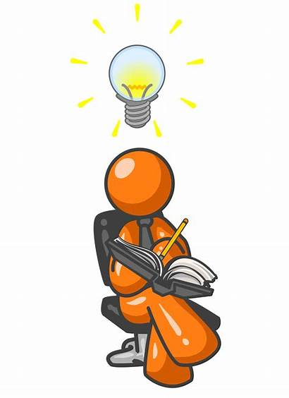 Idea Clipart Clip Wrote Creating Conclusion Writing