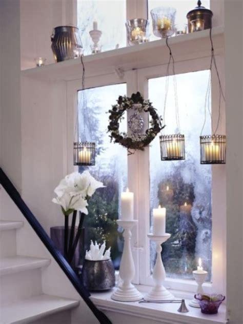 window ledge decorating ideas 35 outstanding christmas window decorations ideas interior vogue