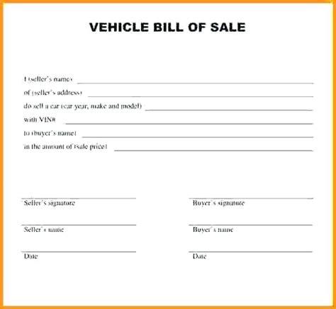 car bill of sale word bill of sale receipt template general bill of sale word