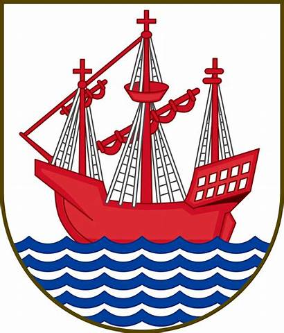 Arms Coat Middelfart Svg Wikipedia Denmark Datei
