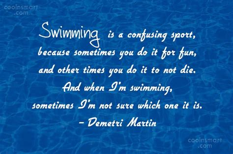 Swimming Quotes, Sayings About Swimmers