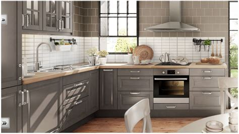 gray kitchen cabinets ikea ikea liding 246 grey kitchen кухня икеа k 246 k 3925