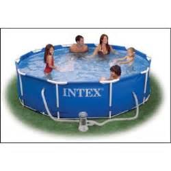 Intex Piscine Tubulaire Ronde : intex 56996gs kit piscine tubulaire ronde 3 66 x 0 76 m ~ Dailycaller-alerts.com Idées de Décoration