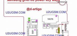 Samsung Galaxy Note Ii N7105 Power On Off Key Button Switch Jumper Ways