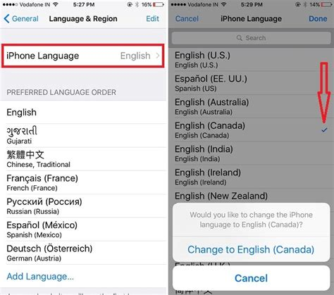 how to change language on iphone 4 how to change language iphone 7 plus iphone 8 plus