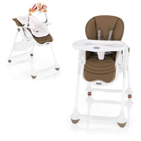 chaise haute brevi b brevi chaise b 3 en 1 moka moka achat vente chaise