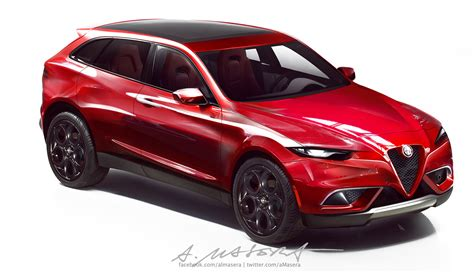 alfa romeo wants to compete with bmw x3 and x5