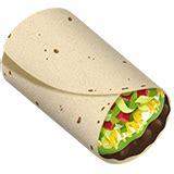 burrito emoji  apple ios