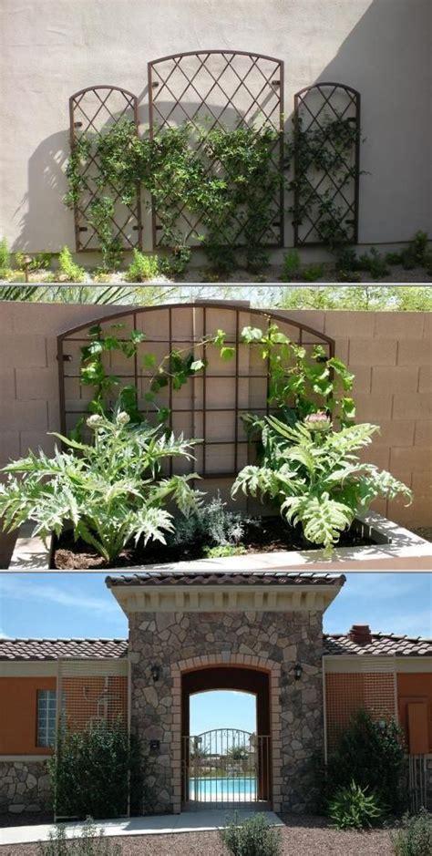 Ornamental Garden Trellis by Best 25 Wrought Iron Trellis Ideas On Iron