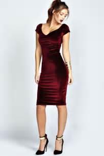 25 best ideas about red velvet dress on pinterest