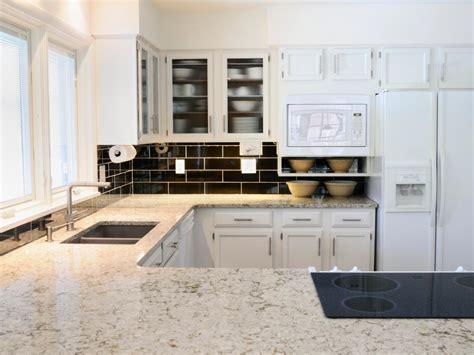 granite tile kitchen countertops pictures white granite countertops hgtv 6894