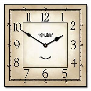 Waltham Square Clock The Big Clock Store