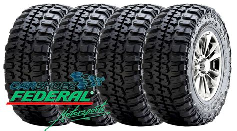 federal couragia mt   ply tires